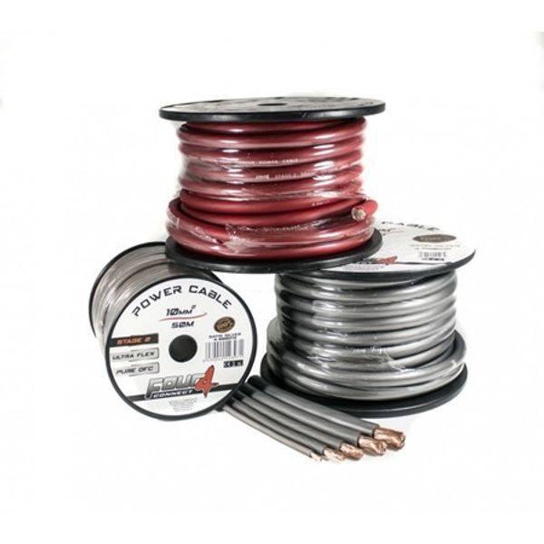 Bilde av 4 CONNECT 10mm2, sølv 100% ren kobber